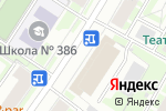Схема проезда до компании РСУ №4 в Санкт-Петербурге