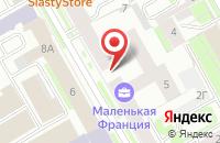 Схема проезда до компании Софт-Сервис в Санкт-Петербурге