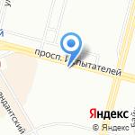 Мир шитья на карте Санкт-Петербурга