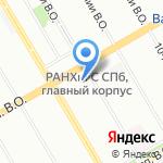 Новатор на карте Санкт-Петербурга