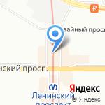Магазин стильной женской одежды на карте Санкт-Петербурга