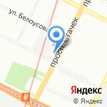 Алиса на карте Санкт-Петербурга