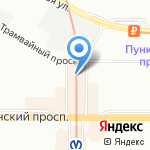 Mnogobt.ru на карте Санкт-Петербурга