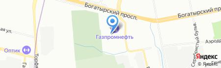 Сунержа на карте Санкт-Петербурга