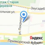 Елагин на карте Санкт-Петербурга