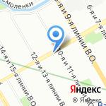 Рoкcop Индастри на карте Санкт-Петербурга