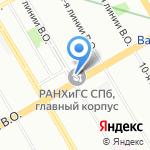 Школа Будущих Президентов на карте Санкт-Петербурга