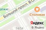 Схема проезда до компании Улыбка радуги в Санкт-Петербурге