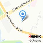 С Иголочки на карте Санкт-Петербурга