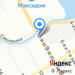 Гарант-Тепло на карте Санкт-Петербурга