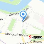 Участковый пункт полиции на карте Санкт-Петербурга
