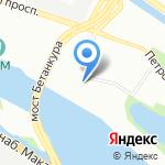 Интехсталь на карте Санкт-Петербурга