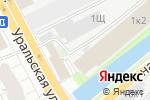 Схема проезда до компании Галатея в Санкт-Петербурге
