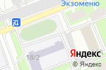 Схема проезда до компании Средняя общеобразовательная школа №608 в Санкт-Петербурге