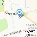 Детский сад №6 на карте Санкт-Петербурга