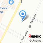 Молния на карте Санкт-Петербурга