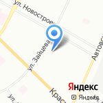 ГрандФлора на карте Санкт-Петербурга
