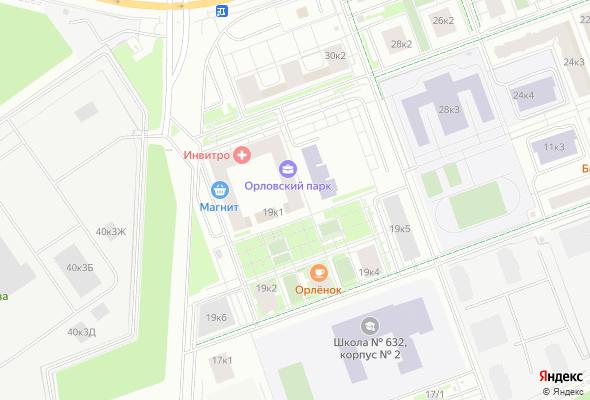 жилой комплекс Орловский парк