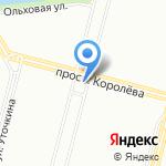 Константъ на карте Санкт-Петербурга