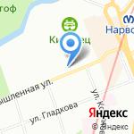 БЕНТОС на карте Санкт-Петербурга