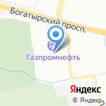 Эльсинор на карте Санкт-Петербурга