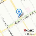 Адвокатская консультация №13 на карте Санкт-Петербурга