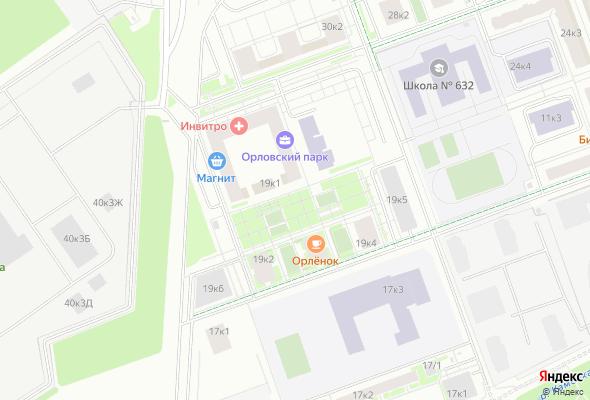 купить квартиру в ЖК Орловский парк