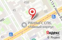 Схема проезда до компании Фонд Исследования Мнений в Санкт-Петербурге
