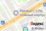 Схема проезда до компании Санкт-Петербургское диабетическое общество инвалидов в Санкт-Петербурге