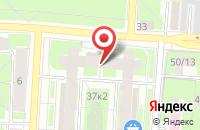 Схема проезда до компании Средняя общеобразовательная школа в Сосновке