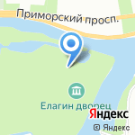 Музей художественного стекла на карте Санкт-Петербурга