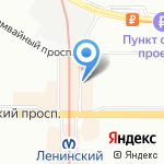 Shannon на карте Санкт-Петербурга