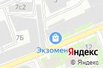 Схема проезда до компании Полисфера в Санкт-Петербурге