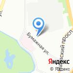 Юность на карте Санкт-Петербурга