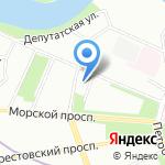 Экотен на карте Санкт-Петербурга