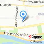 Детский дом на карте Санкт-Петербурга