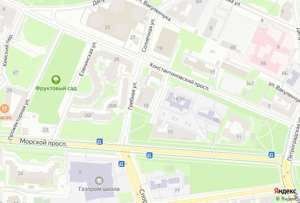 жилой комплекс Кристаллы Крестовского
