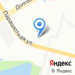 Лапа моя на карте Санкт-Петербурга