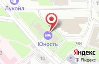 Схема проезда до компании Академия-Северо-Запад в Санкт-Петербурге