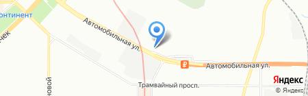 Рол-экспресс на карте Санкт-Петербурга