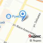 Атлант-Р на карте Санкт-Петербурга
