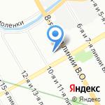 Консультационно-финансовое агентство на карте Санкт-Петербурга