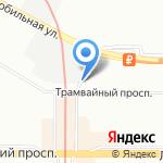 Авто-максимум на карте Санкт-Петербурга