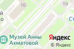 Схема проезда до компании Учет и консультации в Санкт-Петербурге