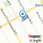 Админ на карте Санкт-Петербурга