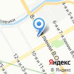 Ленторг на карте Санкт-Петербурга