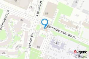 Сдается трехкомнатная квартира в Санкт-Петербурге Константиновский пр-кт, 20а