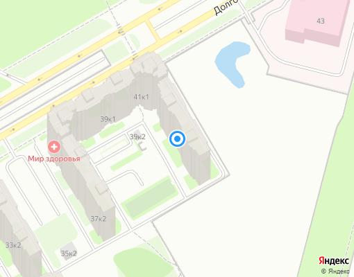 Товарищество собственников жилья «Долгоозерная 41/2» на карте Санкт-Петербурга