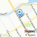 Студия интерьерных решений Татьяны Зыбиной-Воливач на карте Санкт-Петербурга