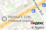 Схема проезда до компании АНТЕННА-ЭКСПРЕСС в Санкт-Петербурге